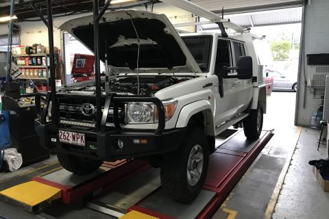 Ultimate Off-Road Set Up For A 79 Series Land Cruiser